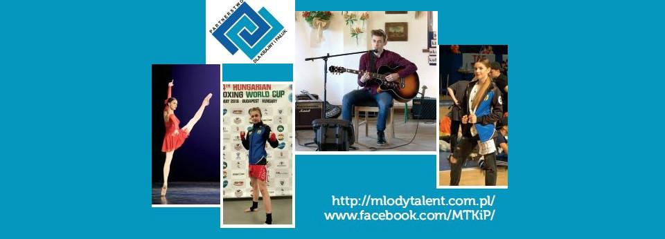Baner Programu Stypendialnego Młody Talent Krajny i Pałuk